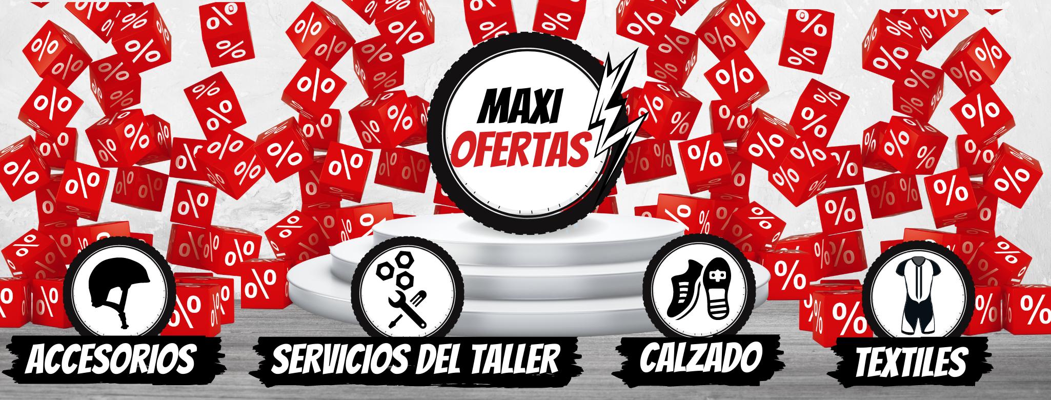 ofertas del 20% descuentos accesorios de ciclismo ropa de ciclismo bicicletas